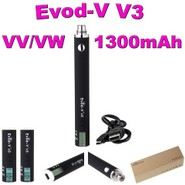 Evod-V V3 MegaVV/VW 1300mAh USB Passthrough